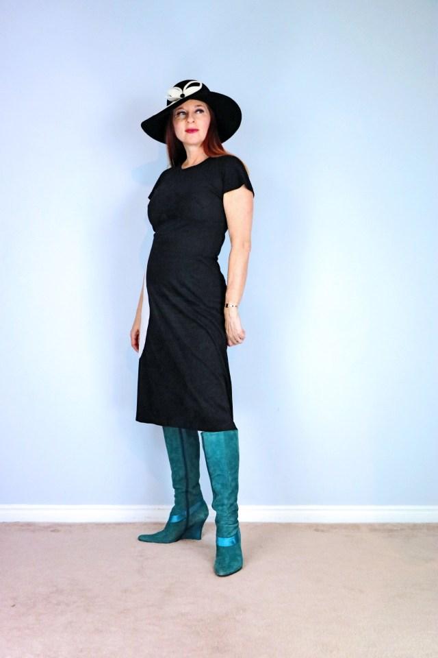 vintage mod dress suzanne carillo