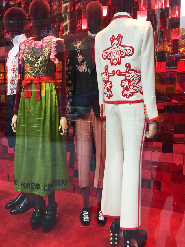 gucci store display hong kong