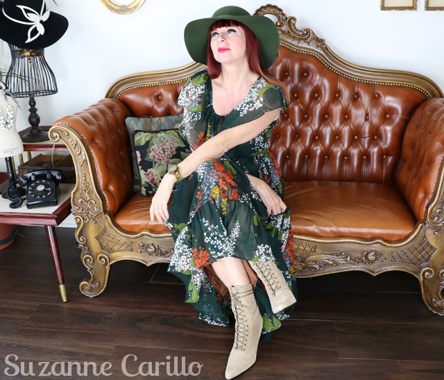 how to wear vintage clothing over 50 suzanne carillo