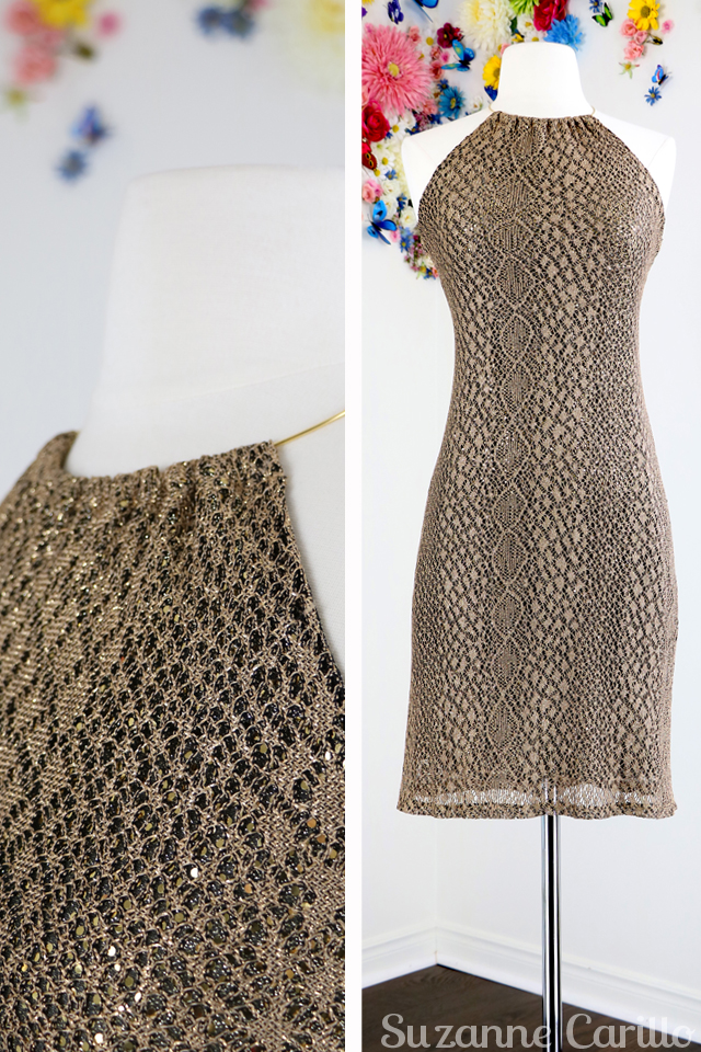 vintage gold mesh lace sequinned cocktail party dress for sale buy now online