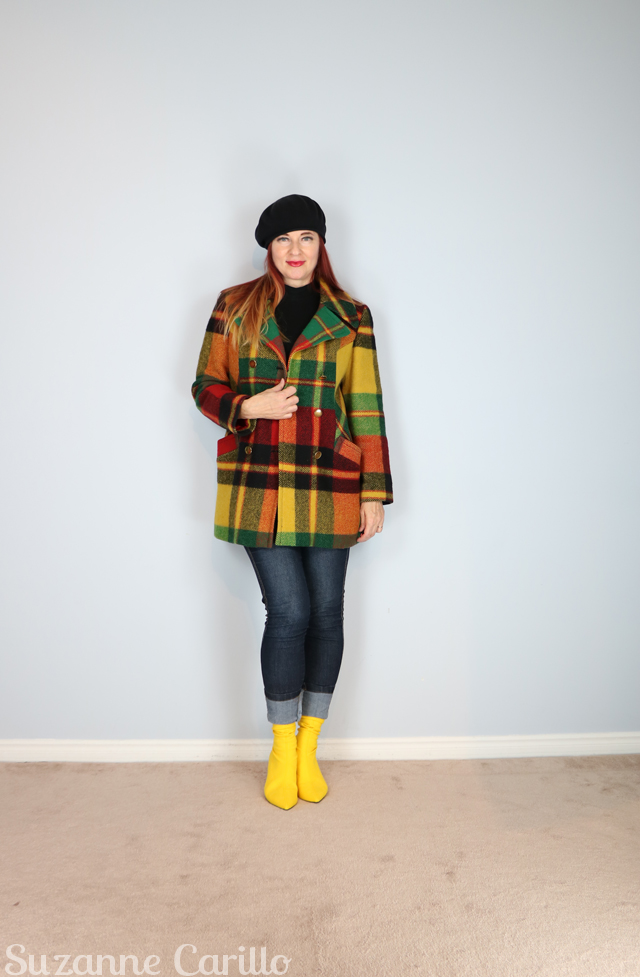 how to wear neon yellow boots for fall suzanne carillo