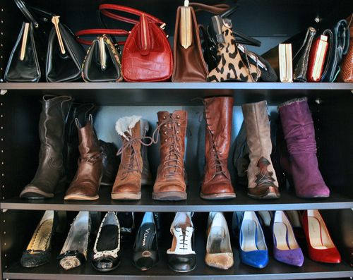 organized shoes and boots suzanne carillo