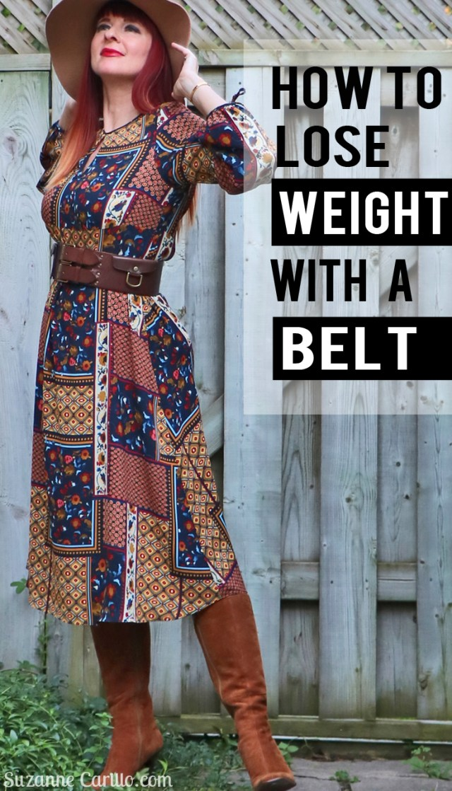how to lose weight with a belt