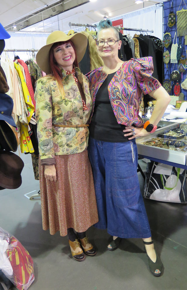 suzanne shelley toronto vintage clothing show 2017