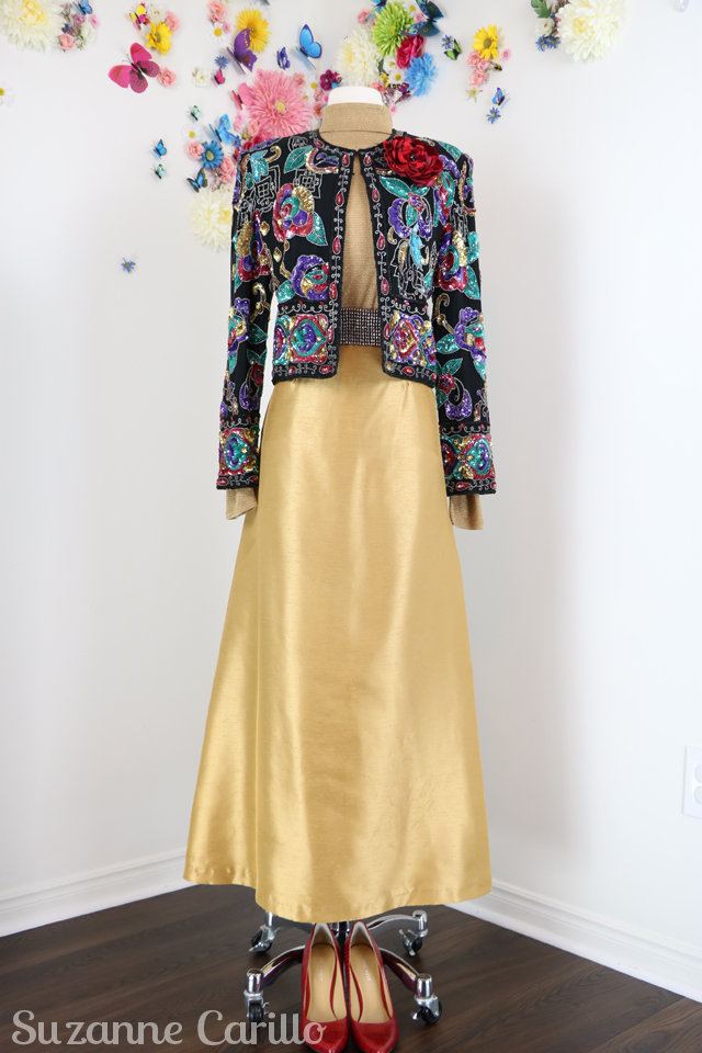 10 ways to style a vintage sequinned jacket sm