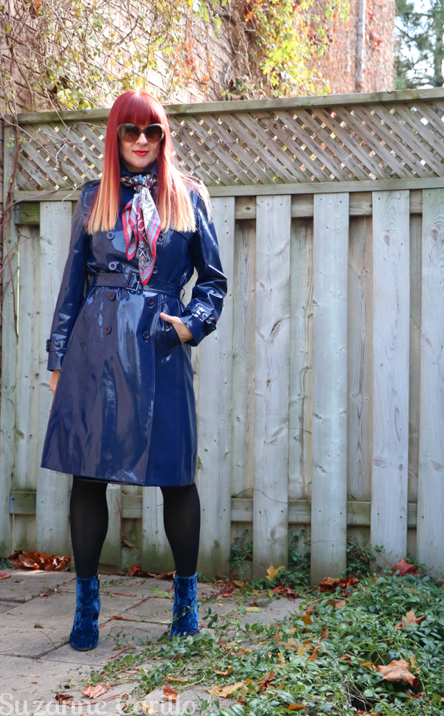 how to wear vinyl over 40 suzanne carillo style