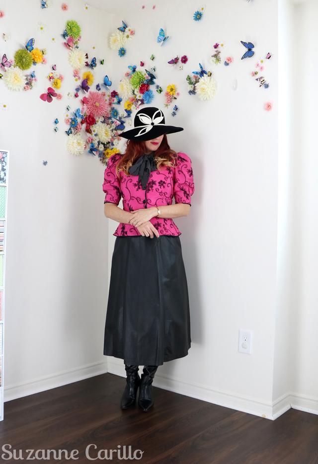 Dior reinterpreted by Suzanne Carillo