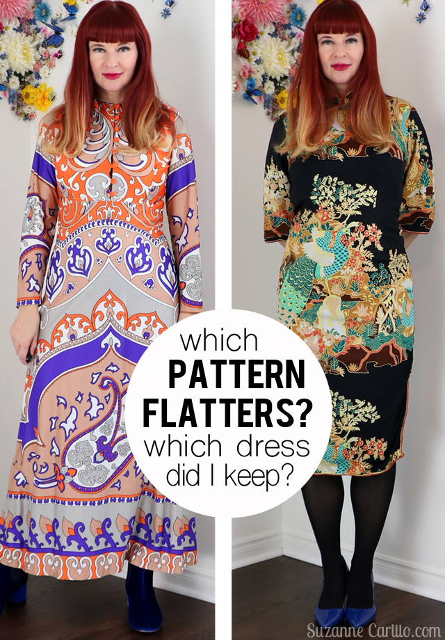 When patterns don't flatter. Which pattern flatters choosing the right pattern suzanne carillo