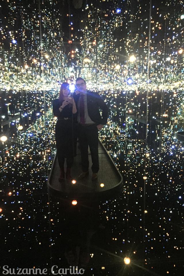 yayoi kusama infinity mirrors lights suzanne carillo