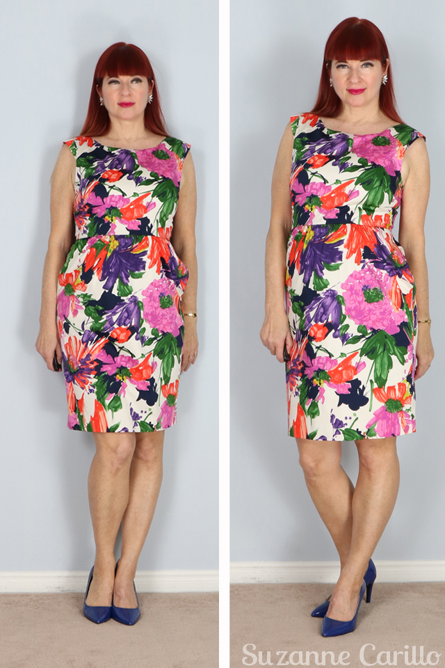 jcrew floral summer sheath dress for sale suzanne carillo