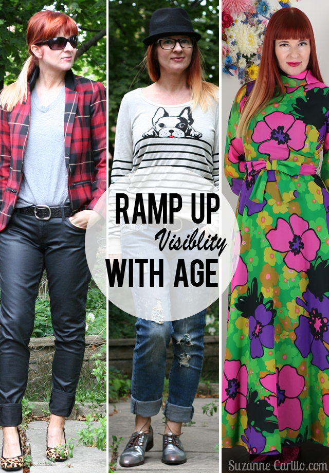 ramp up visibility with age Suzanne Carillo over 50 style
