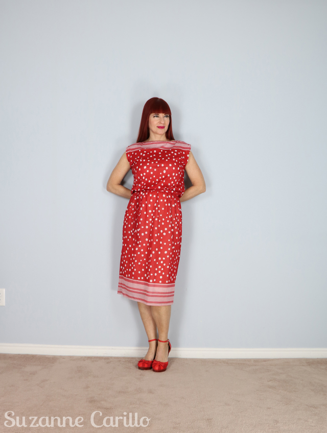 slash neck vintage 1960s 70s dress for sale 640