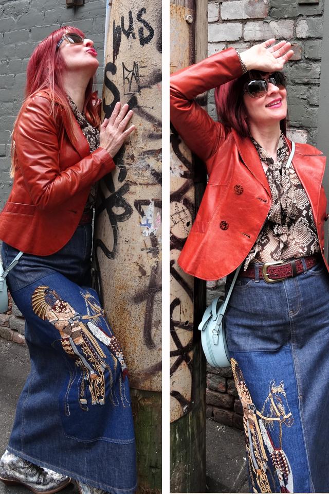 strike a pose blogger style