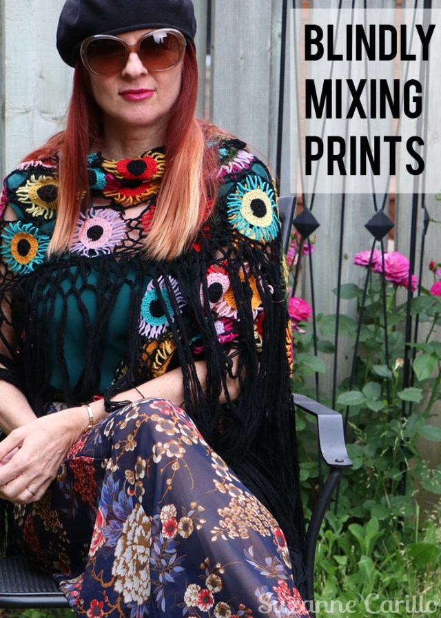 blindly mixing prints suzanne carillo