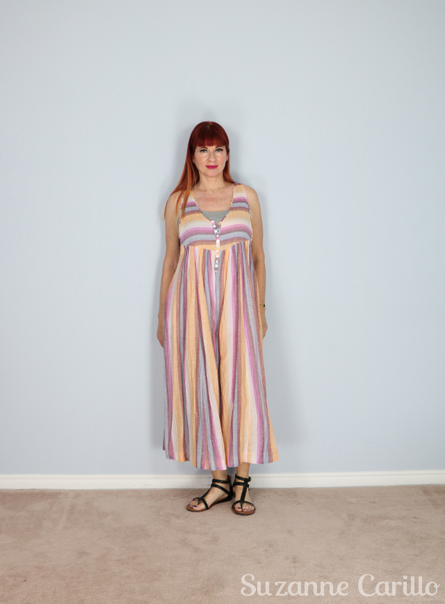 free people summer striped jumpsuit suzanne carillo
