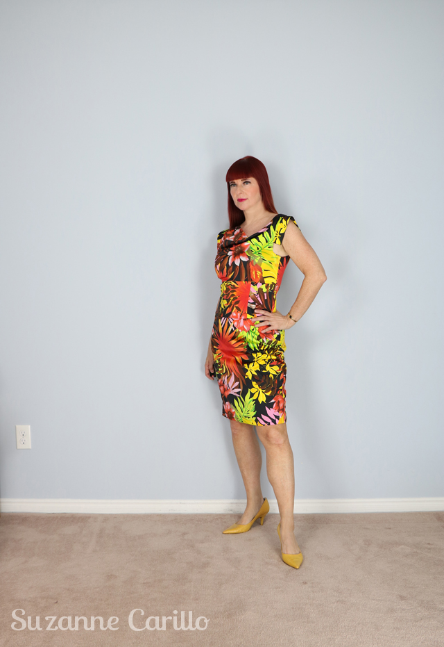 joseph ribkoff floral dress for sale