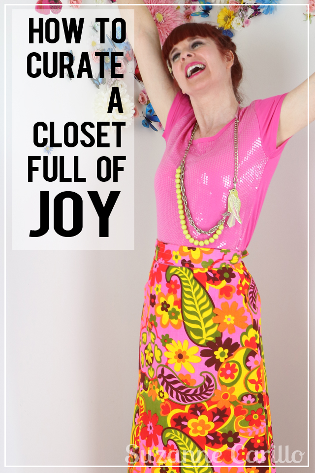 how to curate a closet full of joy suzanne carillo over 50 style