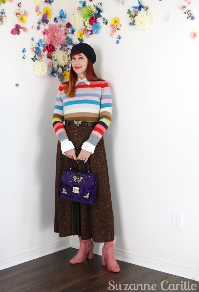 adventurous colourful style for women over 40 suzanne carillo