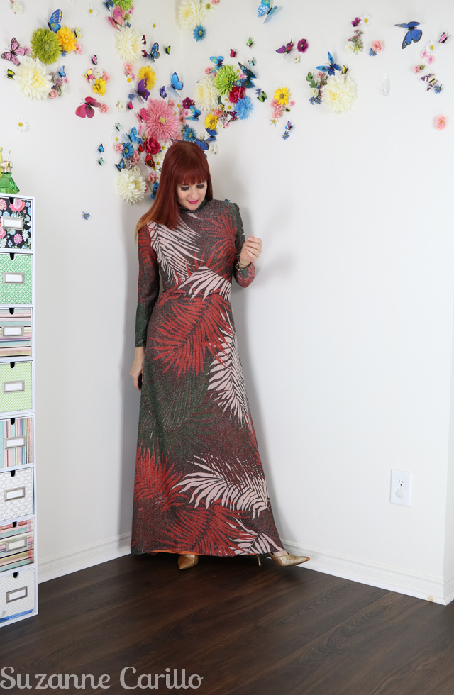 wear vintage maxi dress with style suzanne carillo