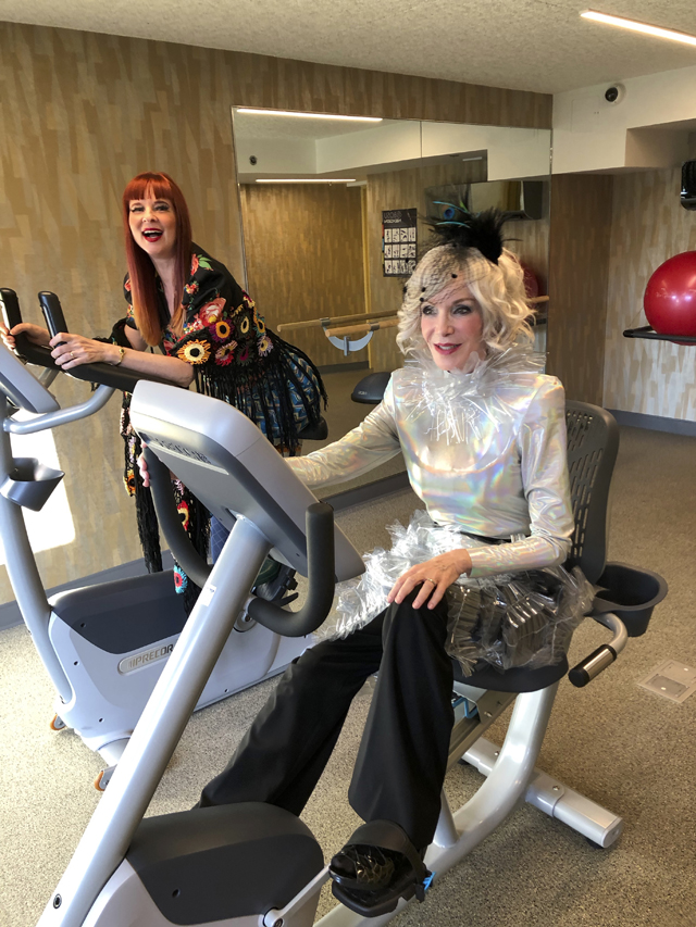 Blue Horizon Hotel fitness room