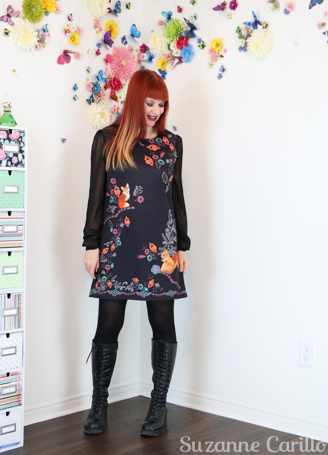 Dark lipstick over 50. short dress over 40 suzanne carillo style