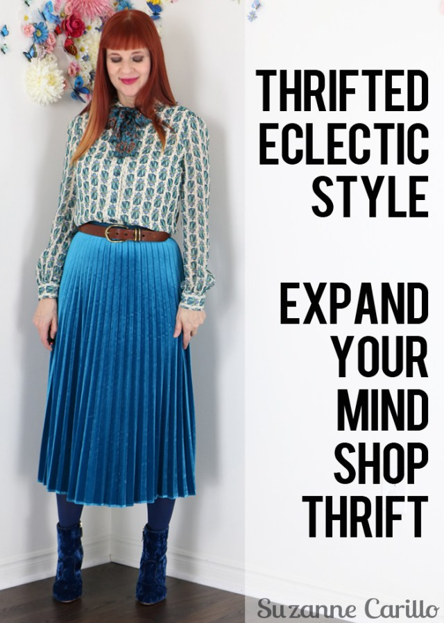 thrifted eclectic style suzanne carillo