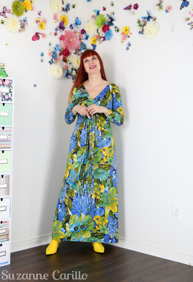 Gratitude Found vintage hawaiian maxi dress suzanne carillo Lost Husband