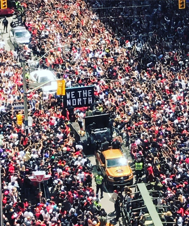 Raptors NBA parade Toronto 2019