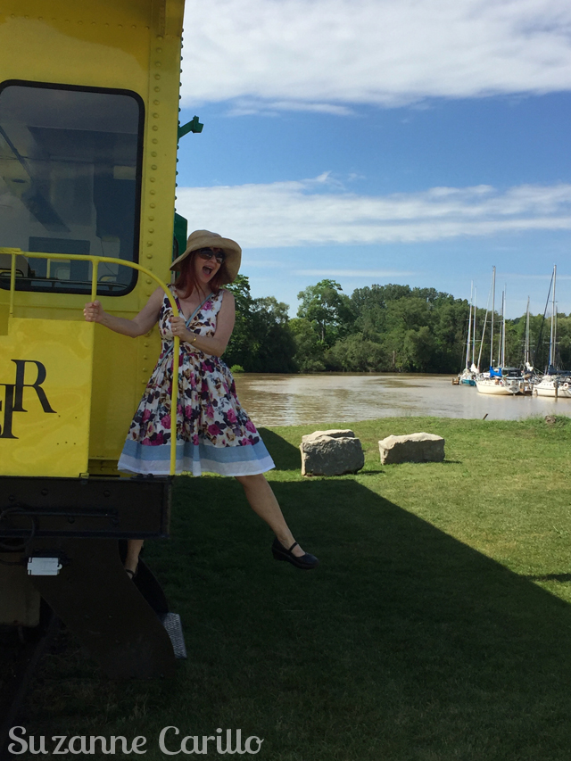 Discovering Southern Ontario become a tourist in your own backyard all aboard port stanley train suzanne carillo