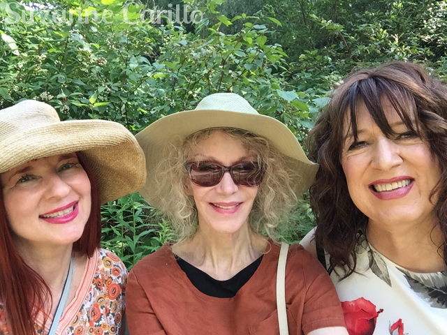 Friendships discovered later in life, bloggers suzanne ally patti visit summer 2019