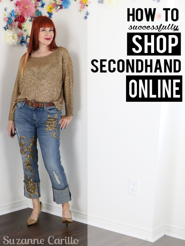 how to successfully shop secondhand online