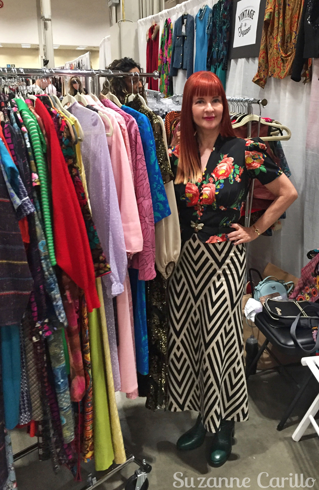 suzanne carillo toronto vintage clothing show 2019