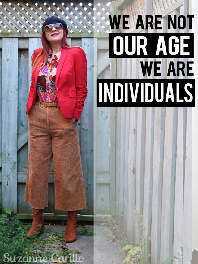 we are not our age we are individuals