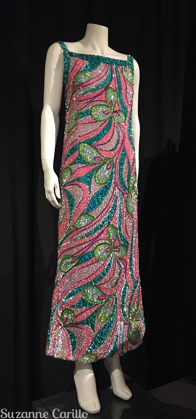 sequinned dress fashion history museum ontario
