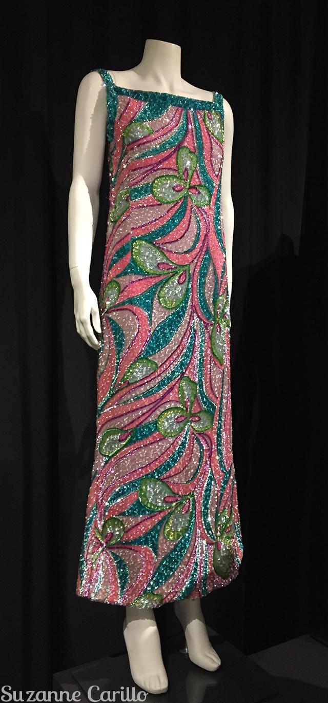sequinned dress fashion history museum ontario