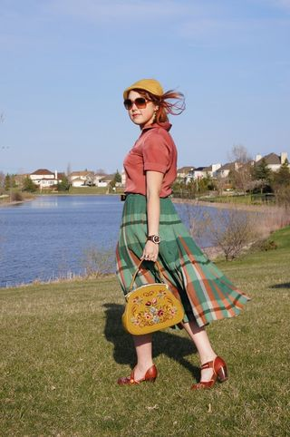 Plaid skirt blog 1 s