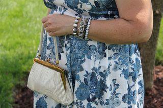 Whiting and davis vintage handbag