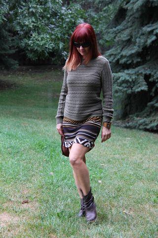 Green linen ralph lauren sweater