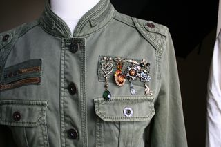Army jacket altered