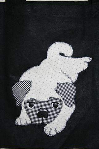 Pug applique