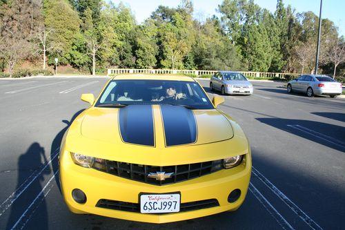Yello sports car