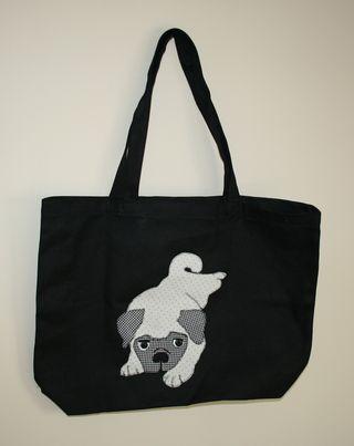 Pug shopping bag