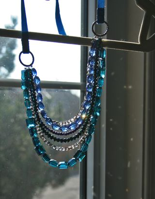 Jewel necklace window suzanne carillo