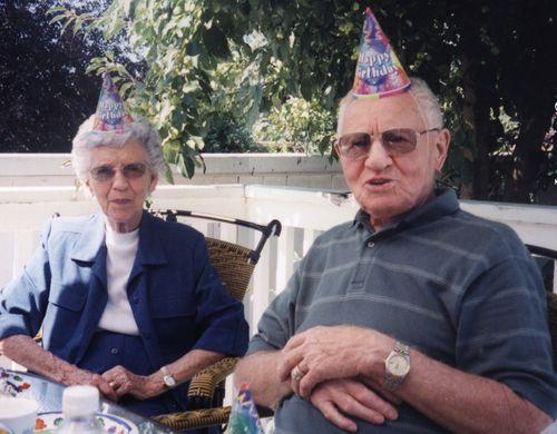 Grandma and grandpa scott