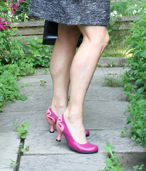 Pink fleuvog shoes