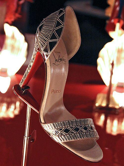 Great gatsby sandal louboutain