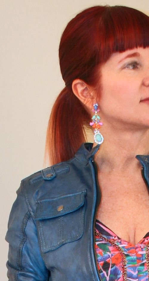 Jewel clic earring