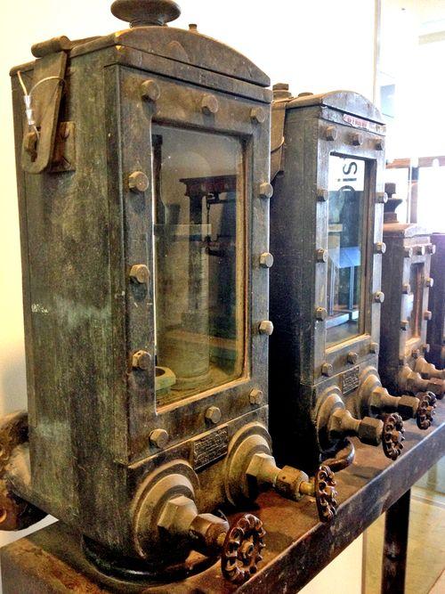 Controls distillery district