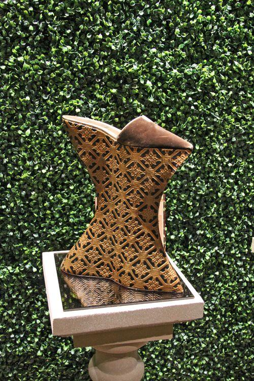 High louboutin shoe