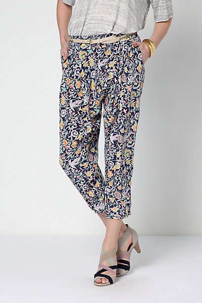 Silk harem pants anthropologie